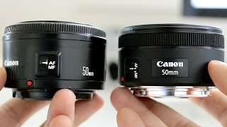 Canon 50mm 1.8 STM vs 50mm 1.8 II - Lens Review & Comparison (with sample images & videos)