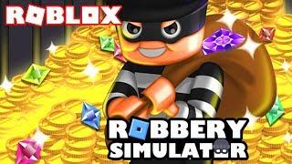 AMAZING TO ROBAR SIMULATOR!!! Roblox Robbery Simulator