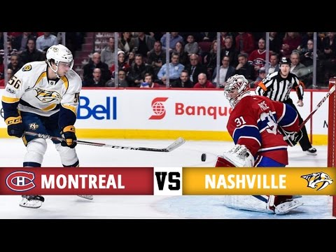 Montreal Canadiens vs Nashville Predators | Season Game 65 | Highlights (2/3/17)