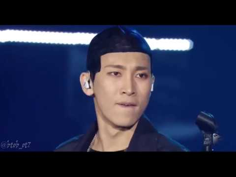 (Engsub) [BTOB TIME CONCERT 2017] Eunkwang solo stage - FOREVER (original by BewhY)