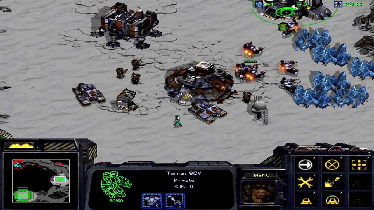 """StarCraft: Brood War Remastered. Эпизод V """"Стальной кулак"""". Прохождение без комментариев"""