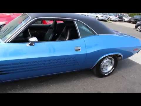 1973 Dodge Challenger Rallye For Sale~B5 Blue~340 4 Barrel~LOW MILES~Original Interior~