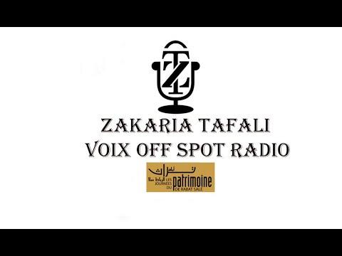 Zakaria Voix Off - Pub Radio - PATRIMOINE DE RABAT
