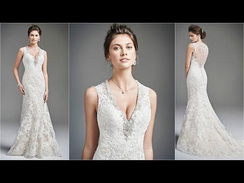 Casual Wedding Dress | Vera Wang | Lace Wedding Dress | Wedding Dresses Uk | Bridal Dress | WD7