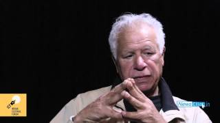 Writers Talk Politics | Palestinian poet Mourid Barghouti in conversation with Githa Hariharan