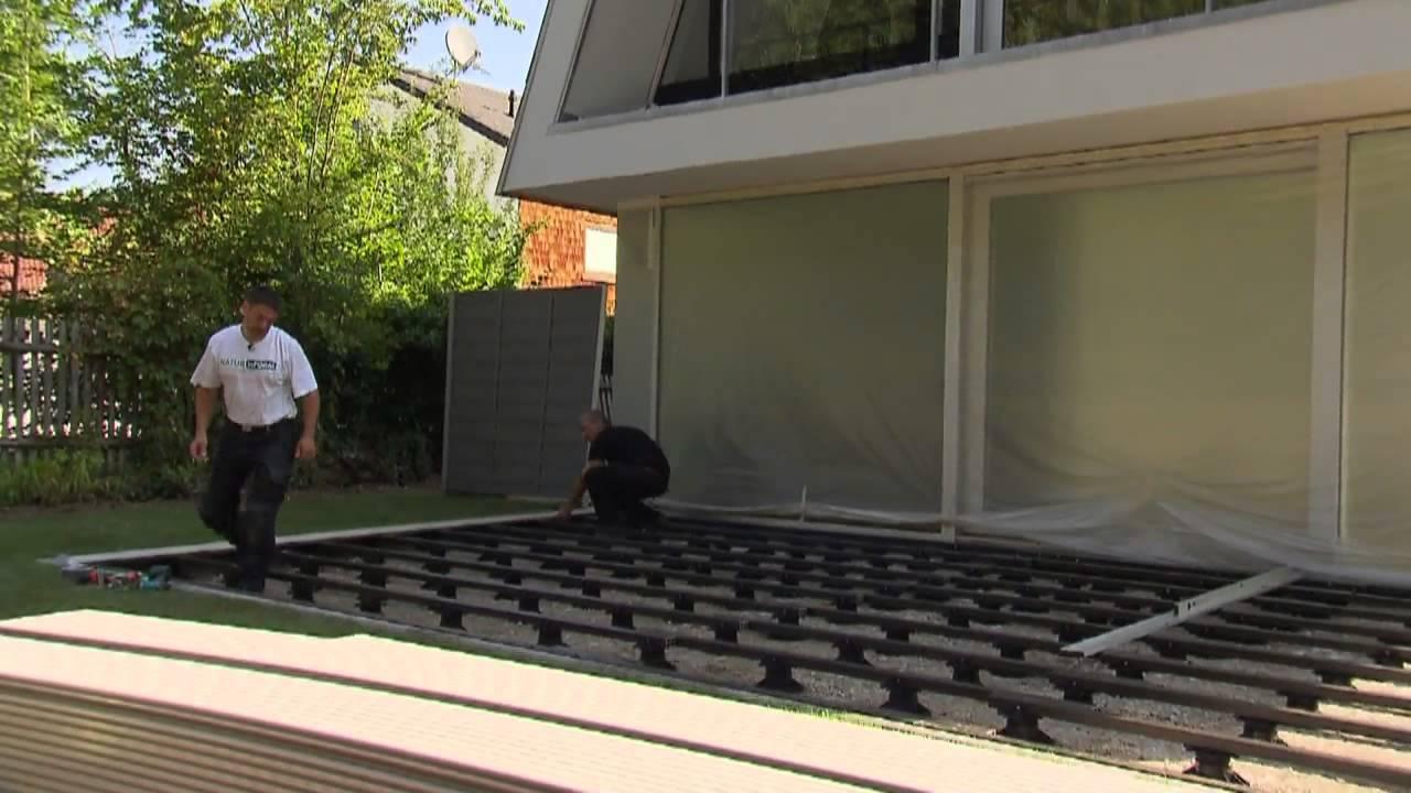 03 terrassen met wpc van naturinform - ned-nif03 - youtube