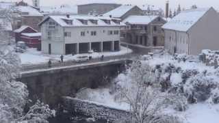 Konačno snijeg ©Marko Čuljat www.licke-novine.hr Lička televizija Gospić LTVG