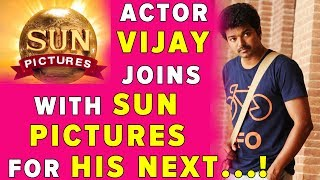 Actor Vijay Joins with Sun Pictures for his Next..!