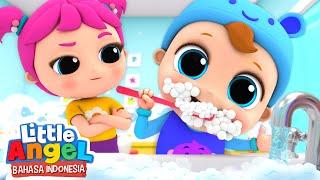 Jangan Lupa Sikat Gigimu! | Lagu Anak Menggosok Gigi | Little Angel Bahasa Indonesia