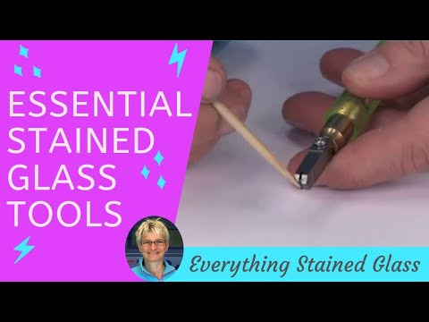Essential Stained Glass Tools