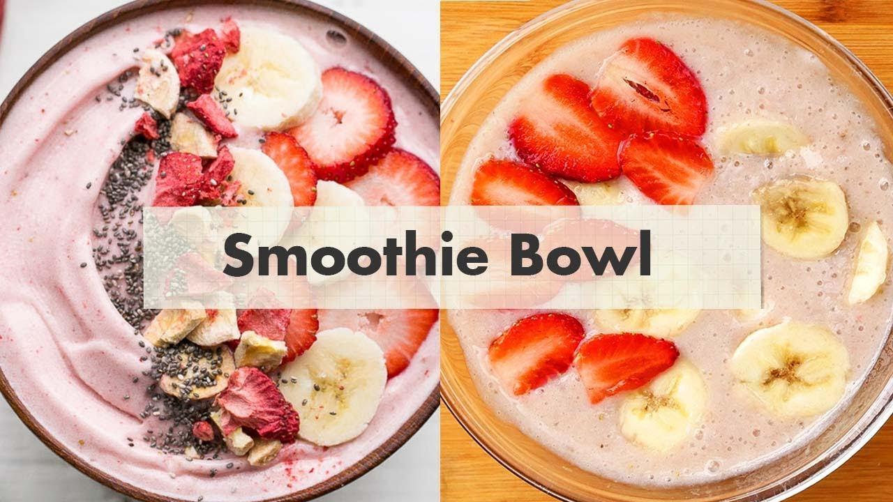 Cara Membuat Smoothie Bowl | Resep Smoothie Bowl #1