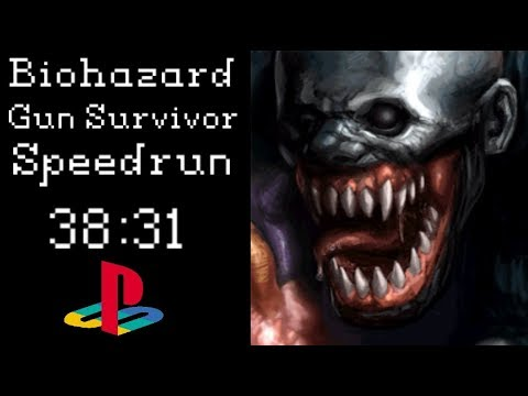 Biohazard Gun Survivor Speedrun - 38:31 PSX NTSC-J