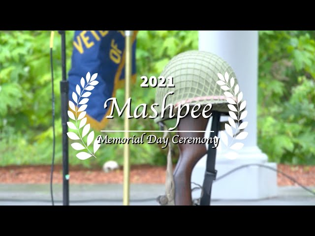 2021 Mashpee Memorial Day Service