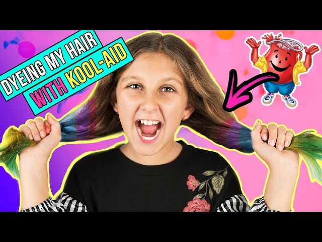 I dyed my hair with Kool-aid!!! MY FIRST VIDEO EVER! Mimi Locks ????