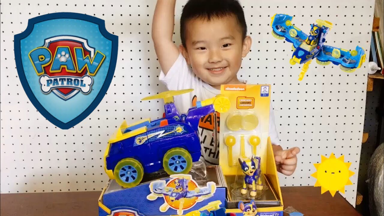 Download Unboxing Paw Patrol Mighty Pups Marshall Flip n Fl