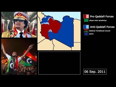 [Wars] The Libyan Civil War (2011): Every Week