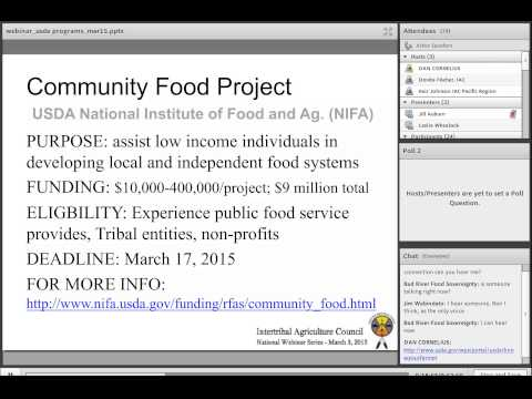 USDA Programs Update March 3, 2015 0