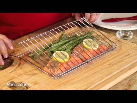 Ready grill quick tip cooking fish youtube for Cooking fish in dishwasher