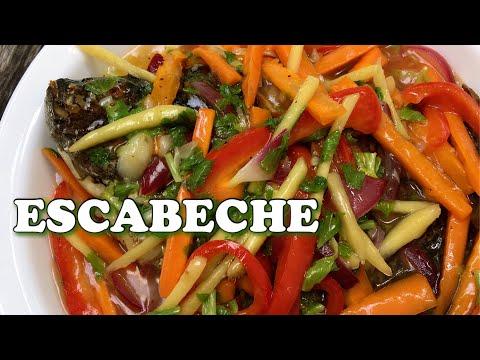 FISH ESCABECHE RECIPE | HOW TO COOK FISH ESCABECHE | Pepperhona TV