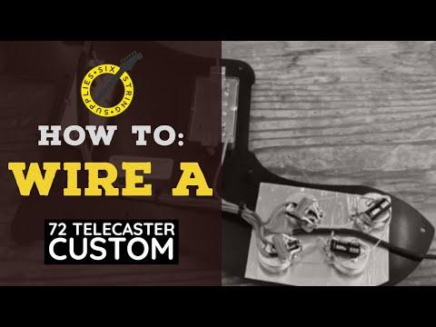 How To Wire A 72 Telecaster Custom