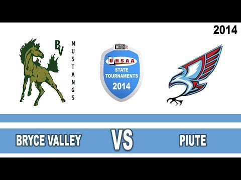 1A Girls Basketball: Bryce Valley vs Piute High School UHSAA 2014 State Tournament Quarterfinals