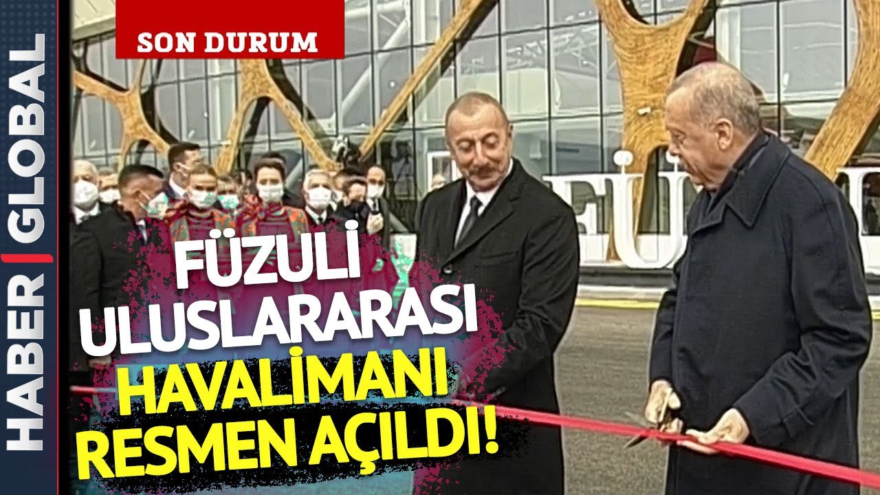 Download Son Dakika: Aliyev, Erdoğan'ı Böyle Karşıladı! Füzuli Uluslararası Havalimanı'ndan Sıcak Görüntüler
