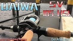 Daiwa SV 105 HSL im Test / Daiwa Alphas