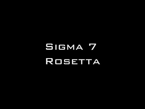 Rosetta: Documentary and Sigma 7 Surround Sound Live Performance