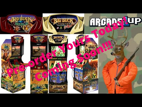 New Arcade1up Pre-order: Big Buck Hunter Pro and World for US and Canada with some differences! from PsykoGamer
