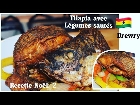 recette-noel-2:-tilapia-frit-et-legumes-sautes
