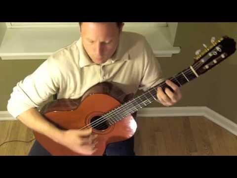 La Flor de la Canela (C. Granda, arr. by A. Chacon) performed by Neil Dixon Smith