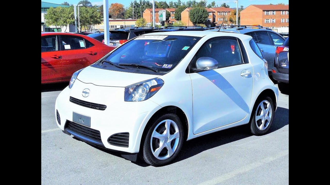 2013 scion iq start up review and full tour