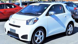 2013 Scion iQ Start Up, Review and Full Tour