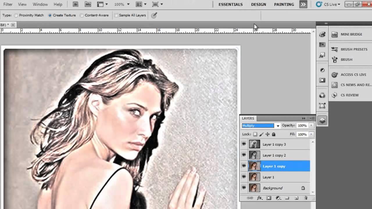 Efeito de desenho nas fotos 38