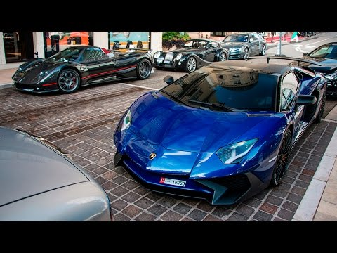 Supercars in Monaco August 2016 - Launch Control, Accelerations, Start Up and more!!