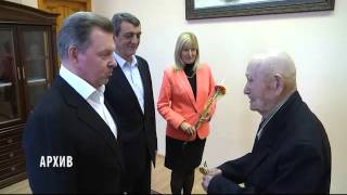 Ветеран Великой Отечественной войны получил ордер и ключи от новой квартиры