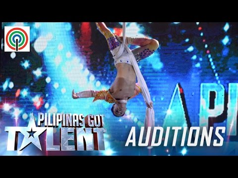 Pilipinas Got Talent Season 5 Auditions: Louie Lorenzo – Solo Male Aerialist