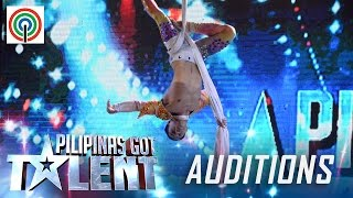 Pilipinas Got Talent Season 5 Auditions: Louie Lorenzo - Solo Male Aerialist