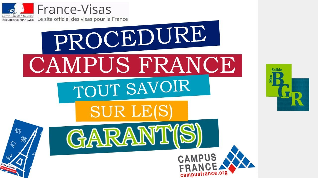Download CAMPUS FRANCE : TOUT SAVOIR SUR LE(S) GARANT(S)