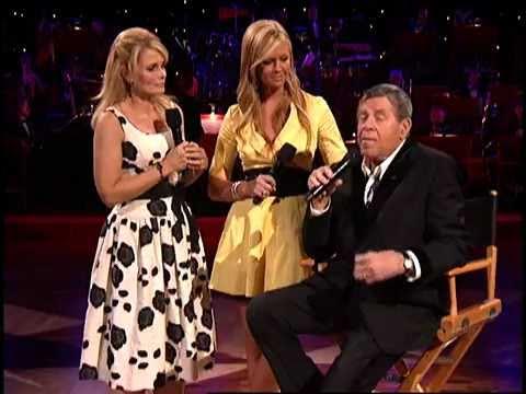 MDA Telethon 2008  Jerry Lewis, Jann Carl, Nancy O'Dell