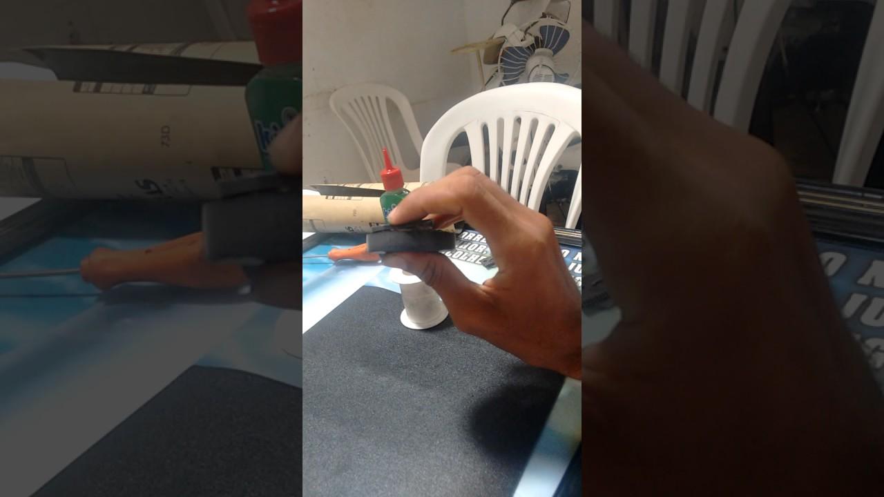 Como Amolar Laminas De Maquina De Cortar Cabelo Youtube