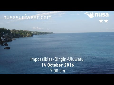 14-10-2016 /✰✰/ NUSA's Daily Surf Video Report from the Bukit, Bali.