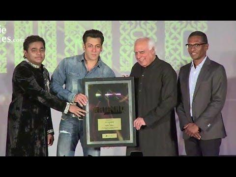 Salman Khan Launches A. R. Rahman And Kapil Sibal's Album 'Raunaq'