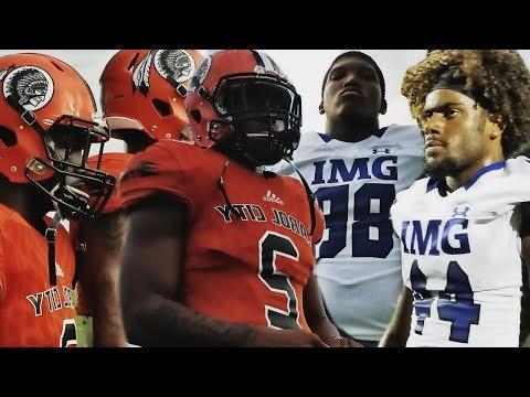 IMG ACADEMY vs Miami Carol City Chiefs | High School Football Highlights