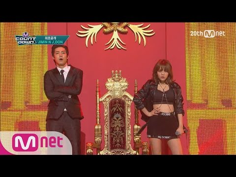 First Release! 'JIMIN-J.DON' in good hip hop chemistry! 'GOD' [M COUNTDOWN] EP.422