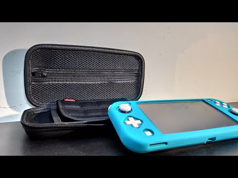 Nintendo switch lite case and cover India review