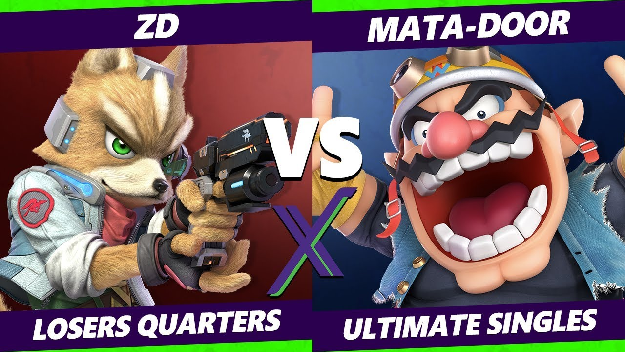 Smash Ultimate Tournament - ZD (Fox)  Vs. Mata-Door (Wario) - S@X 289 SSBU Losers Quarters