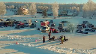 Ice Racing Matsu Vintage Snowmachine Racers Club Jan 20, 2019
