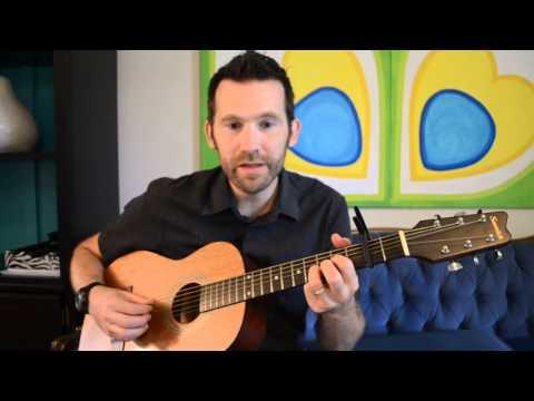 God Bless America Easy Guitar Picking Tutorial Demo