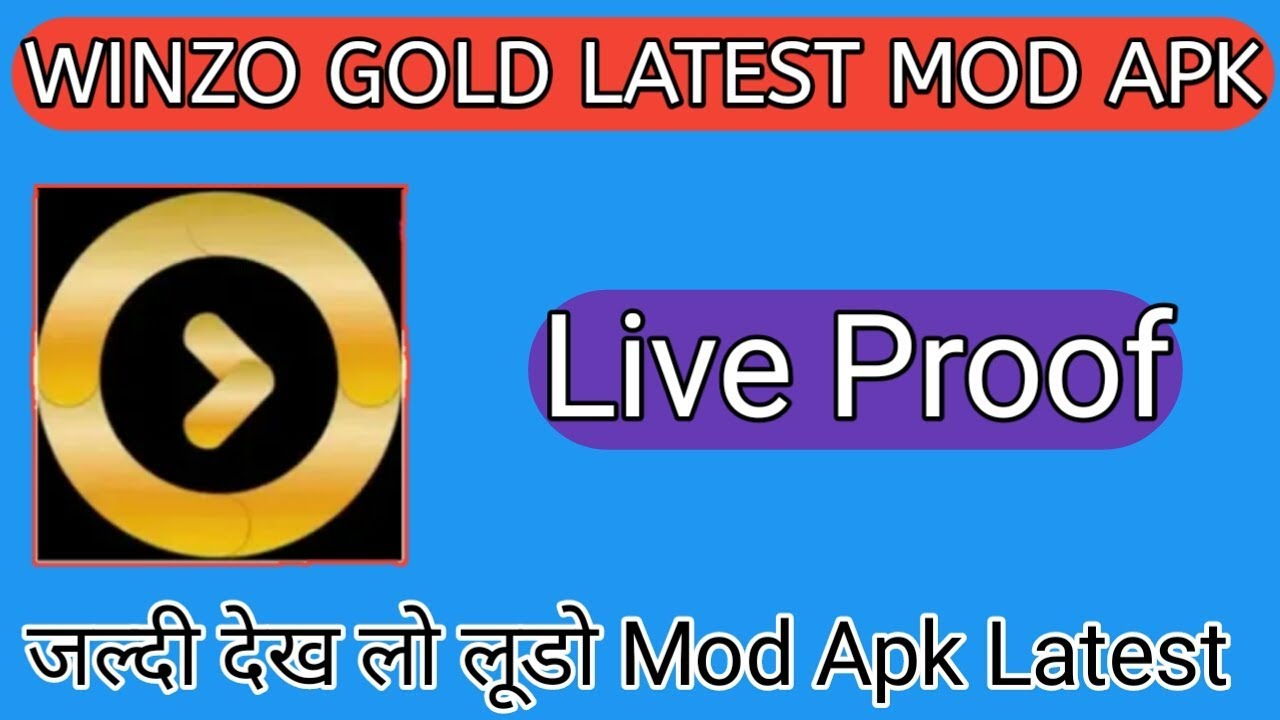 WINZO GOLD MOD APK LATEST VERSION LIVE PROOF // By Raj Tricks